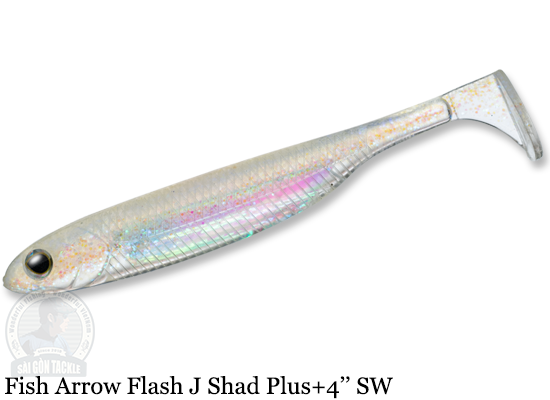 FISH ARROW FLASH J SHAD PLUS+ SW 4'' - 142