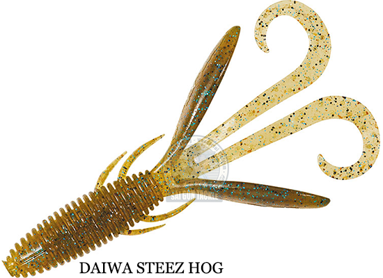 DAIWA STEEZ HOG 3'' - LAKE SHRIMP